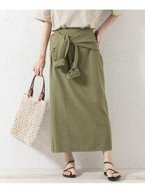 【SALE/60%OFF】Sonny Label シャツラップライクスカート サニーレーベル スカート スカートその他 カーキ ベージュ