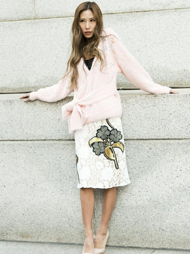 【SALE/30%OFF】Million Carats フラワーモチーフスカート[DRESS/ドレス] ミリオンカラッツ スカート【RBA_S】【RBA_E】【送料無料】