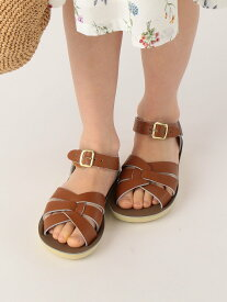 SHIPS KIDS Salt Water Sandals:Swimmer(16~22cm) シップス シューズ キッズシューズ ブラウン ホワイト ネイビー【送料無料】