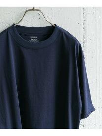 【SALE/50%OFF】DOORS ダブルシルケットTシャツ アーバンリサーチドアーズ カットソー Tシャツ ネイビー ホワイト グレー グリーン