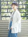 【SALE/50%OFF】Green Parks chocol raffine robe ニュアンスミディ丈ニットカーデ グリーンパークス ニット【RBA_S】...