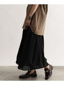 【SALE/40%OFF】カラー消しプリーツフレアスカート オゾック スカート【RBA_S】【RBA_E】