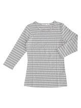aimoha/ベーシックロングスリーブクルーネックTシャツ[無地