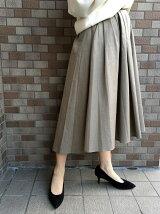 ランダムタックフィッシュテールスカート
