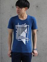 幾何ボーダーPt.Tシャツ