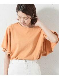 【SALE/30%OFF】Sonny Label 袖フレアカットプルオーバー サニーレーベル カットソー Tシャツ オレンジ ホワイト ブルー