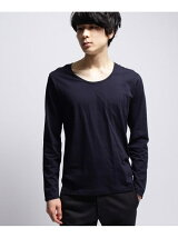 ◆inner light u neck long tee