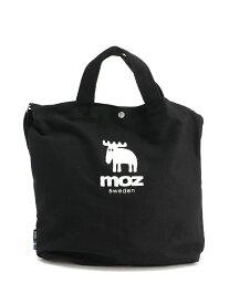 moz moz/(W)moz ショルダートートバッグ ZZHC-01 ティツウオーオンラインストア バッグ トートバッグ ブラック グレー ホワイト レッド ピンク ブルー