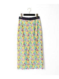 GRACE CONTINENTAL スモールフラワータイトスカート グレースコンチネンタル スカート【送料無料】