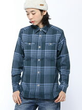 (W)W s Wool Check L/S Shirt