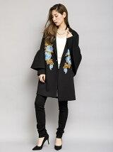 BIGスリーブ刺繍コート[DRESS/ドレス]
