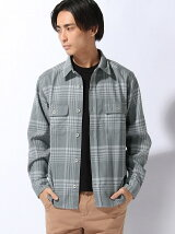 Wool Check L/S Shirt