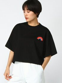 RAINBOW CROPPED SS M エックスガール カットソー【送料無料】