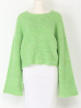 BOUCLE WIDE SLEEVE MG TOPS