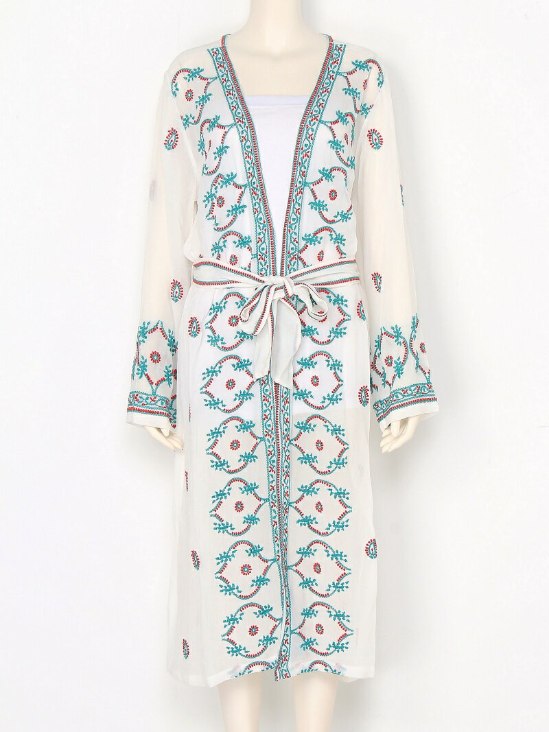 【SALE/30%OFF】TODAYFUL Embroidery Long Gown トゥデイフル コート/ジャケット【RBA_S】【RBA_E】【送料無料】