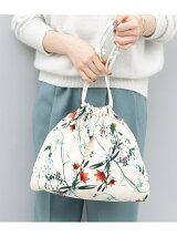 flower printed bag