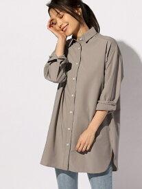 【SALE/60%OFF】BAYFLOW (W)アソートロングシャツ ベイフロー シャツ/ブラウス 長袖シャツ グレー ピンク ホワイト