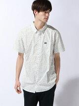 (M)総柄デザインS/Sシャツ