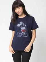 ぼかしミッキーTシャツ