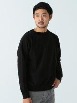 BEAMS / 裁ち切り ラグランスウェットシャツ