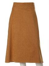 《Luftrobe》フェイクスウェードフレアスカート