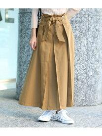 【SALE/30%OFF】ROPE' mademoiselle 【SS/S/Lサイズあり】【DICKIES×ROPE'mademoiselle】マキシスカート ロペ スカート スカートその他 ベージュ カーキ【送料無料】