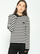 BASIC STRIPED L/S T