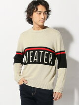SWEATERHOUSE/(M)ロゴセーター