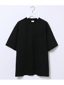 【SALE/40%OFF】ADAM ET ROPE' 【CAMBER】302 POCKET T SHIRT アダムエロペ カットソー カットソーその他 ブラック ネイビー レッド イエロー