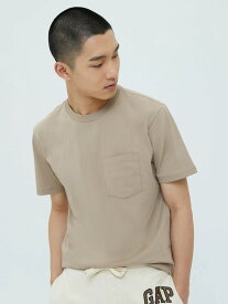 【SALE/30%OFF】GAP (M)Stripe Crewneck T-shirt ギャップ カットソー Tシャツ ベージュ ブルー ホワイト オレンジ ブラック