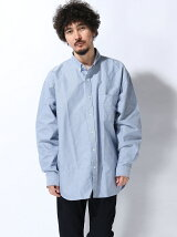 BEAMS / ヘビーオックスフォード イージーフィット ボタンダウンシャツ