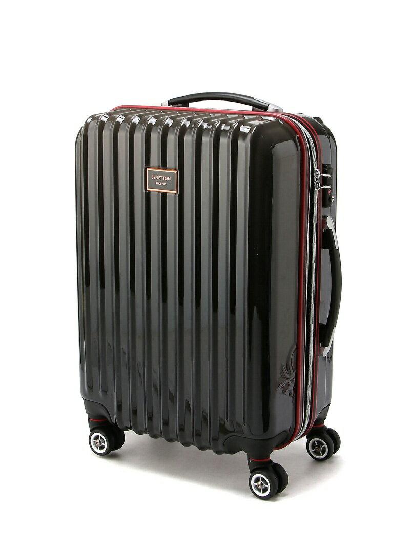 BENETTON (W)ベネトンジッパー付きキャリーケース・スーツケース(M) ベネトン バッグ【送料無料】