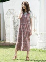Oriental rug flower キャミワンピ+Tシャツセット