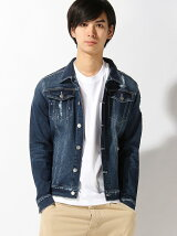 (M)AZ by junhashimoto/ Crash Jean jacket