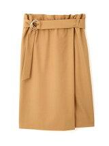 ◆大きいサイズ◆ハイウエストラップ風スカート