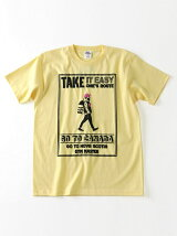 gym master/(U)TAKE IT EASY Tee - yellow