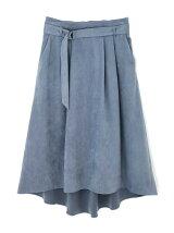 ◆大きいサイズ◆スエードフレアスカート