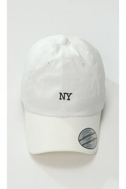 ikka NY ツイルロー ローCAP イッカ 帽子/ヘア小物