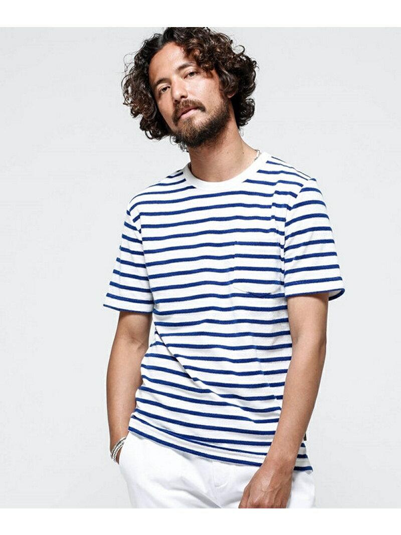 【SALE/10%OFF】ショートリングパイルTシャツ SS ナノユニバース カットソー【RBA_S】【RBA_E】
