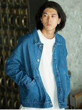 Wide Switch Denim Jacket