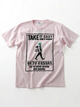 gym master/(U)TAKE IT EASY Tee - pink