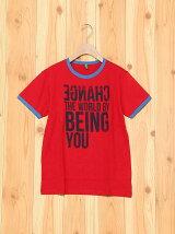(K)KIDSカラーメッセージ半袖Tシャツ・カットソー