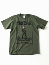 gym master/(U)TAKE IT EASY Tee - olive