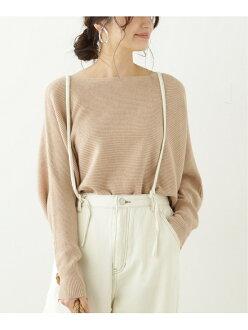 frames RAY CASSIN garter stitch boat neck knit pullover lei cousin knit long sleeves knit beige black orange