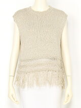 Cotton Fringe Knit