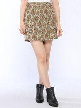 【Dukkah】(L)ゴブランタイトミニスカート