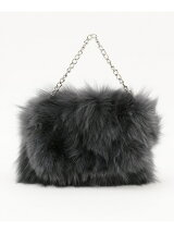 Fox Fur Clutch バッグ