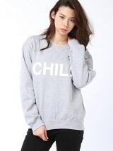 """【W】GD クルースウェット""""CHILL"""""""
