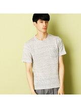 イタリア素材を使用したフレンチリネンニットTシャツ