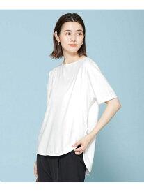 【SALE/40%OFF】nano・universe ヘムラインTシャツ 半袖 ナノユニバース カットソー Tシャツ ホワイト ネイビー